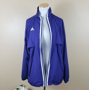 EUC Adidas Climalite Purple Jacket
